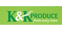K & K Produce Logo