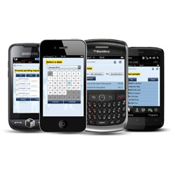 Mobile Phone Clocking