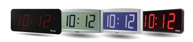 Bodet Digital Clocks