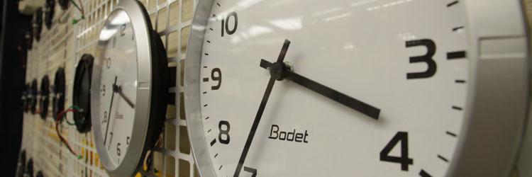 Bodet Analogue Clocks - Timeworks
